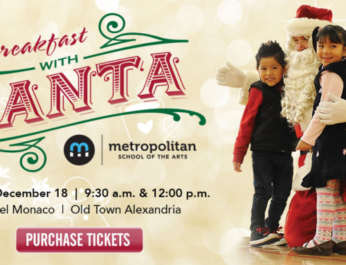 Breakfast with Santa at the Hotel Monaco on December 18!