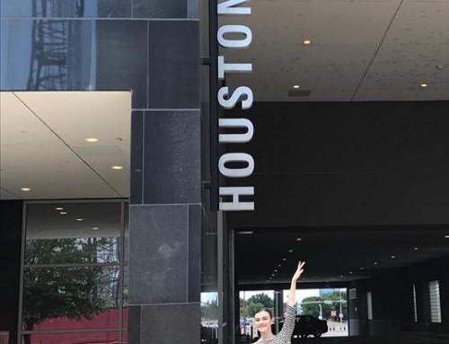 MSA Student, Elpida Voryas, Attends The Houston Ballet's Pre-Professional Academy!