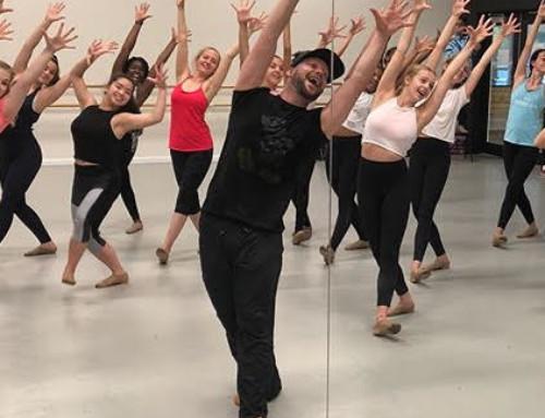 Broadway's Keven Quillon Teaches Metropolitan Students to Follow Their Dreams