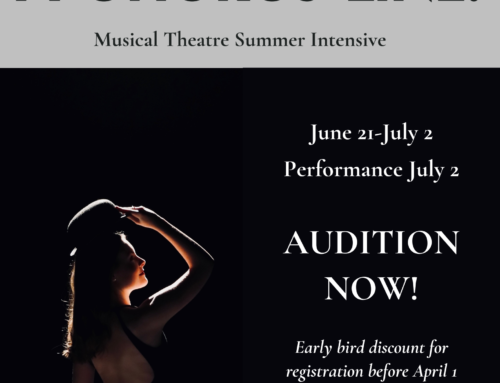 Audition NOW for A Chorus Line!